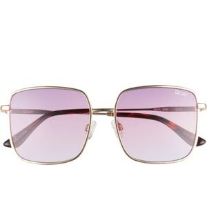 Quay Australia 53mm Gradient square sunglasses